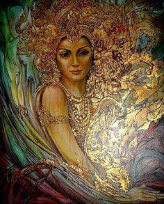 Goddess Tabiti f the Scythian Culture of  Ancient Aryana ~ Aratta ( Ukraine )
