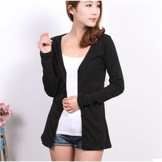 New Womens Casual Knitwear Cardigan Shirt Coat Jacket Long Sweater Outwear Wraps