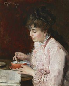 Portrait of a Lady (1890-91). Raimundo de Madrazo y Garreta (Spanish, 1841-1920). Oil on cradled panel. Meadows Museum, SMU, Dallas.