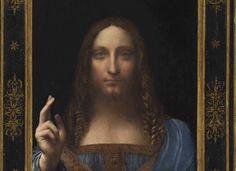 Da Vinci's Salvator Mundi sells for record $450m