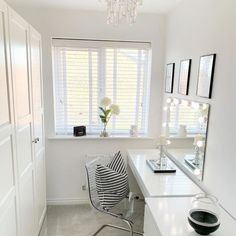 A transparent chair that mirrors its surroundings. It picks up the colours of the room and appears to be floating. Hollywood Vanity Mirror, Hollywood Mirror With Lights, Malm Dressing Table, Dressing Room, Painted Drawers, Large Drawers, Glass Table, Cleaning Wipes, Home Accessories