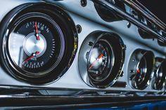 Classic instruments gauges in my Custom 68 Impala Bezel, 1968 Impala, lowrider Lowrider, Impala, Chrome Plating, Custom Cars, Gauges, Instruments, Marketing, Classic, Derby