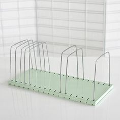 Wire Letter Organizer Mint, $44, Daily General - good for record display