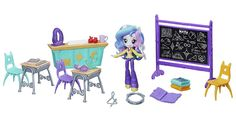 My Little Pony Equestria Girls Principal Celestia Classroom Doll EG Mini