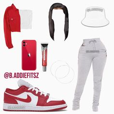 Lit Outfits, Baddie Outfits Casual, Swag Outfits For Girls, Cute Swag Outfits, Couple Outfits, Retro Outfits, Stylish Outfits, Fashion Outfits, Freshman Outfits