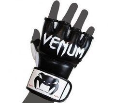"Venum ""Undisputed"" MMA Gloves - Nappa Leather - Black (L/XL) by Venum. $74.90 Martial Arts Gear, Martial Arts Training, Mma Equipment, Training Equipment, Boxing Training Gloves, Mma Gear, Mma Gloves, Leather Label, Sports Training"