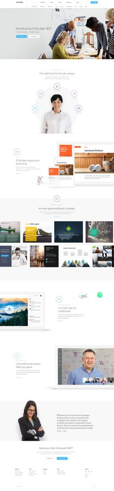 Articulate 360 – New Ui design concept and visual identity by UENO.