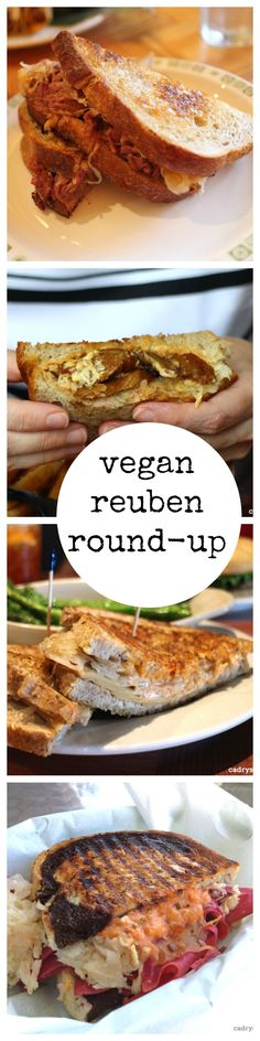 Vegan reuben round-up: 11 vegan reubens across the United States that you need to try | cadryskitchen.com