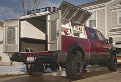 Let Your #Truck Help You #Work #Harder - Turn your truck into the workhorse it was born to be. With tough rear doors and extra side cargo panels, you can transport everything you need to get the job done.
