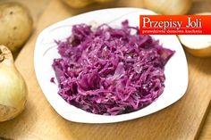 czerwona kapusta Cabbage, Salads, Snacks, Vegetables, Recipes, Food, Appetizers, Recipies, Essen