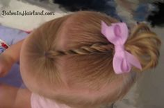 http://babesinhairland.com/hairstyles/baby-rope-braid-into-baby-pony/