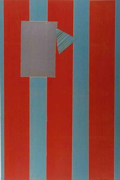 Sam Gilliam - Castle Banner 5, Work on Paper