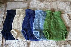 slim fitting wool soaker to knit
