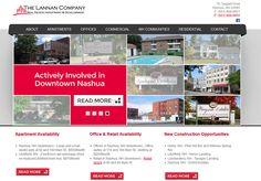 The Lannan Company #MESH_LiveBuild #RealEstate #Website