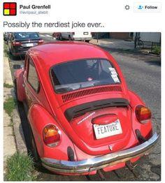 Paul Grenfell- nerdiest joke ever; #nerdsrule #devhumor