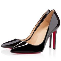 Christian Louboutin Pigalle 100mm Pumps Black