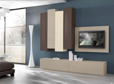 Function, design & making the most of your home Tv Unit Decor, Tv Wall Decor, Tv Unit Design, Tv Wall Design, Modular Walls, Modular Furniture, Contemporary Tv Stands, Modern Wall Units, Living Room Tv Unit