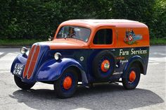 FORD & FORDSON & THAMES COMMERCIALS. - VINTAGE AND CLASSIC VEHICLES