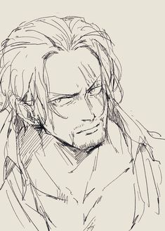 Iconic Characters, Anime Characters, Red Hair Shanks, Anime Character Drawing, One Piece Series, Es Der Clown, One Piece Drawing, Pirate Island, One Peace