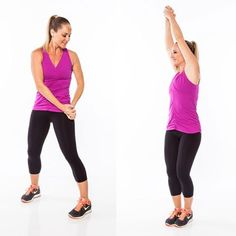 Vertical Abs Workout: 6 Standing Abs Exercises for a Flat Stomach | Shape Magazine
