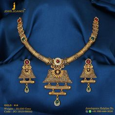 Gold 916 Premium Design Get in touch with us on +919904443030 #bridaljewelrydisplay
