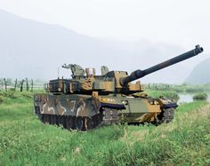 K2 Black Panther Main Battle Tank (South Korea)