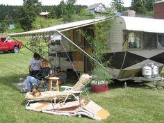 vintage travel trailer camper