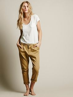Free People Lafayette Pleat Pant at Free People Clothing Boutique