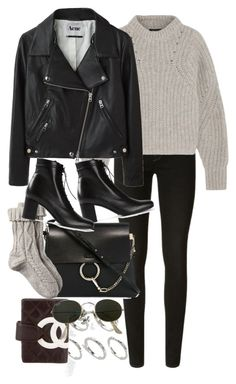 """""""Untitled #9981"""" by nikka-phillips ❤ liked on Polyvore featuring J Brand, Isabel Marant, Acne Studios, ASOS, Chloé, Fat Face, Chanel, Yves Saint Laurent and Ray-Ban"""