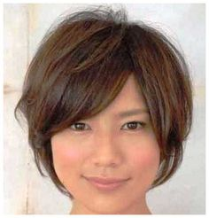 Short Asian Hairstyles for Women - Bing images … Asian Haircut Short, Bob Haircut Curly, Short Layered Haircuts, Short Hair Cuts, Short Hair Styles, Layer Haircuts, Short Layers, New Look, Asian Hairstyles