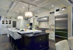 John Starck of Showcase Kitchens designed Wenge Butcher Block