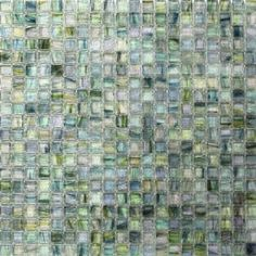 Splashback Tile Breeze Green Tea 12-3/4 in. x 12-3/4 in. x 6 mm Glass Mosaic Tile BREEZEGREENTEA at The Home Depot - Mobile