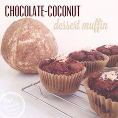 {chocolate coconut dessert muffins}