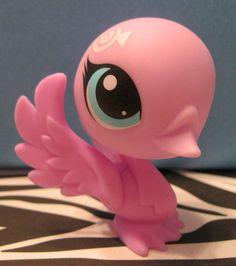 Littlest Pet Shop #3321 Pink Swan #Hasbro