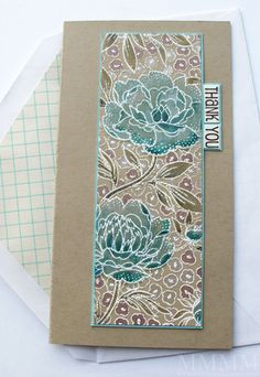 white embossing on craft cardstock