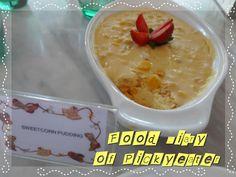 Sweetcorn Pudding  http://yumyumbites.blogspot.com/2012/07/hi-tea-buffet-at-swez-brasserie-part-2.html#