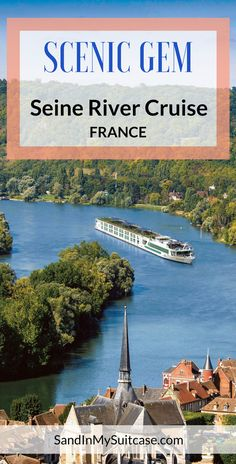 #France: Our Scenic Gem Seine River cruise from Paris to Normandy? Delightful! Castles, cathedrals, gardens, artist studios and museums – explored from a luxury rivership with cool sun-room balconies.