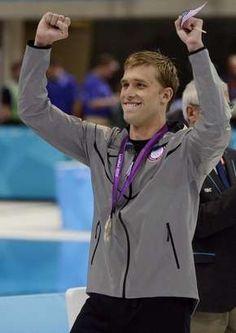 Silver! Nick Thoman100m Backstroke