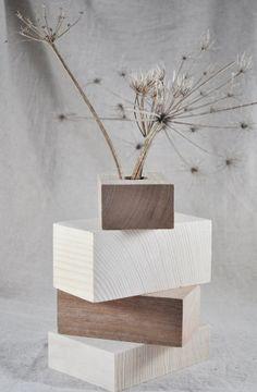 Vase en bois by lecoindubois on Etsy