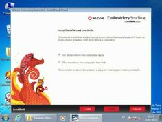 Tutorial de Instalação Wilcom Embroidery Studio E2 com Corel X5 - Windows 7 64 bits - YouTube