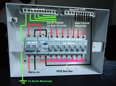 domestic switchboard wiring - Google Search