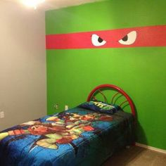 Teenage Mutant Ninja Turtles Bedroom