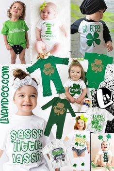 St. Patricks Day outfits for kids