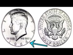 Kennedy Half Dollars - Price Charts & Coin Values Us Coins, Rare Coins, Dollar Coin Value, Silver Coins For Sale, Coin Books, Dollar Items, Coin Prices, Coins Worth Money, Coin Store