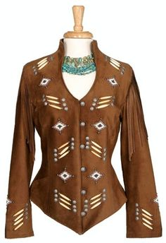 Renegade Spirit Ladies' Jacket: Song of the Plains Suede - #CowgirlChic