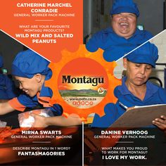 Montagu Snacks offers a range of sustainable sourced, tasty snacks locally produced in SA. Nutritious snacks ideal for the whole family. Nutritious Snacks, Yummy Snacks, General Worker, What Goes On, Behind The Scenes, My Love, Words, Horse