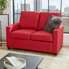 Zipcode Design Claire Loveseat & Reviews | Wayfair