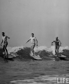 Surfers, 1960's, LIFE