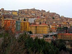 Perugia Italy, Places Ive Been, Places To Visit, Far Away, Paris Skyline, Past, Beautiful Places, City, Traveling