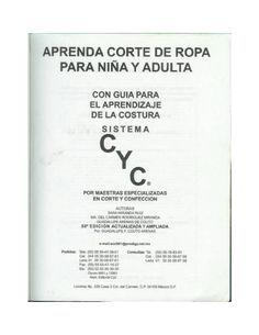 Sistema CyC: Patrones niña y adulta  Sistema de corte y confeccion.
